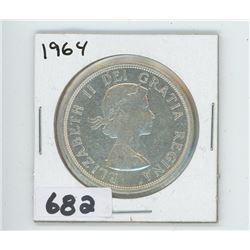 1964 - CANADIAN SILVER DOLLAR