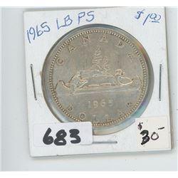 1965 - CANADIAN SILVER DOLLAR