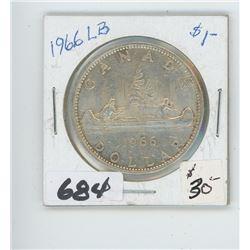 1966 - CANADIAN SILVER DOLLAR