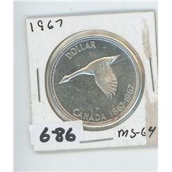 CANADIAN SILVER DOLLAR