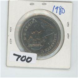 1980- CANADIAN DOLLAR