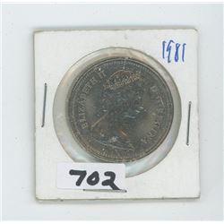 1981- CANADIAN DOLLAR