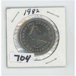 1982- CANADIAN DOLLAR