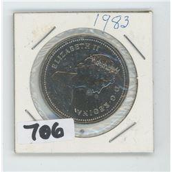 1983 CANADIAN DOLLAR
