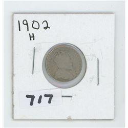 1902H- CANADIAN TEN CENTS