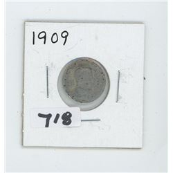 1909- CANADIAN TEN CENTS