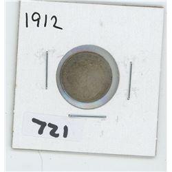 1912- CANADIAN TEN CENTS