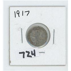 1917- CANADIAN TEN CENTS