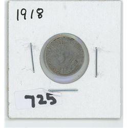 1918- CANADIAN TEN CENTS