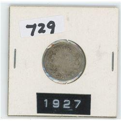 1927- CANADIAN TEN CENTS