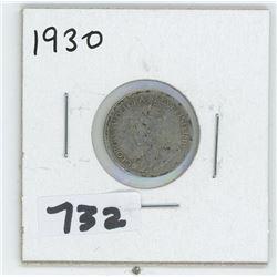 1930- CANADIAN TEN CENTS