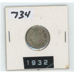 1932- CANADIAN TEN CENTS
