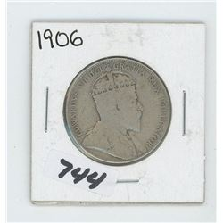 1906- CANADIAN FIFTY CENTS
