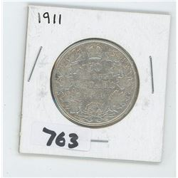1911 CANADIAN 50 CENTS