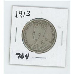 1913 CANADIAN 50 CENTS