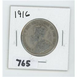 1916 CANADIAN 50 CENTS