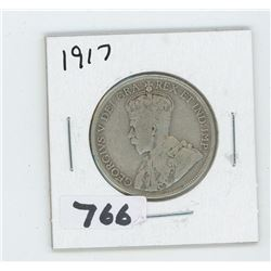 1917 CANADIAN 50 CENTS