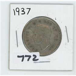 1937 CANADIAN 50 CENTS