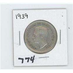 1939 CANADIAN 50 CENTS