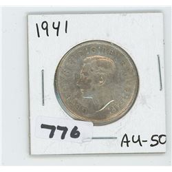1941 CANADIAN 50 CENTS