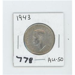1943 CANADIAN 50 CENTS