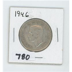 1946 CANADIAN 50 CENTS
