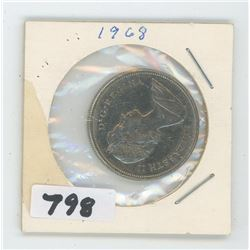 1968 CANADIAN 50 CENTS