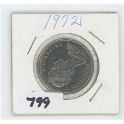 1972 CANADIAN 50 CENTS