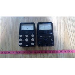 TWO PIECES OF JANA EQUIPMENT - 1 GALVANOMETER
