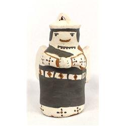 Native American Cochiti Pueblo Pottery Angel