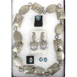 Native American Navajo Jewelry, Most is Sterling