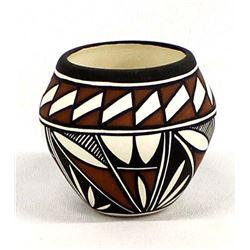 Native American Laguna Pottery Jar by W. Clark