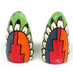 Early Tesuque Pottery Salt & Pepper Shakers