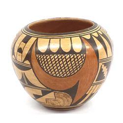Vintage Hopi Pottery Bowl by Verla Dewakuku