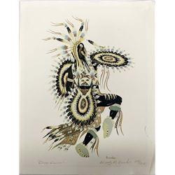 Native American Potawatomi Woody Crumbo Print
