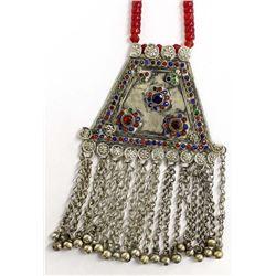 Large Tibetan Pendant Necklace