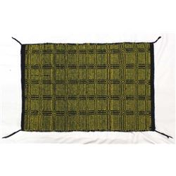 Navajo Double Sided Wool Textile Saddle Blanket