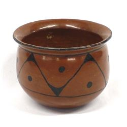 Vintage Native American Maricopa Pottery Bowl