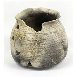 Prehistoric Native American Pottery Jar