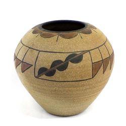 Original Southwestern Stoneware Pottery Vase
