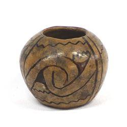 Historic 1907 Pima Indian Pottery Jar
