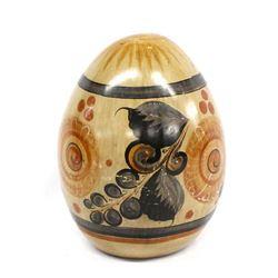 Vintage Tonala Pottery Egg