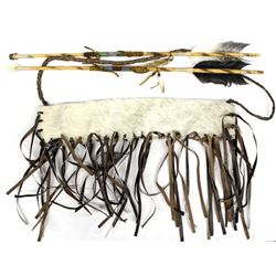 Hide Covered Quiver and 2 Arrows