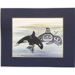 Northwest Coast Canadian Print by S. Coleman