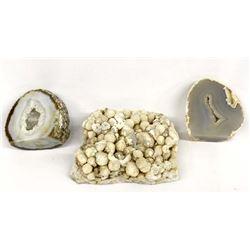 3 Rock Specimens