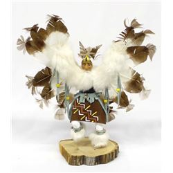 Native American Eagle Kachina by Virginia Begay
