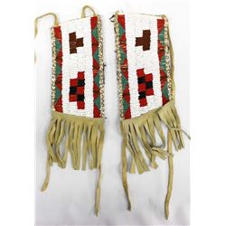 Native American Plains Indian Beaded Wrist Bands