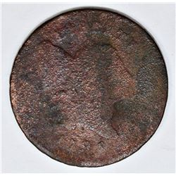 1795 HALF CENT