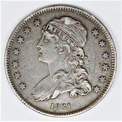 1831 BUST QUARTER