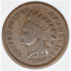 1869 INDIAN CENT